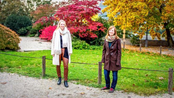 Die Würzburger Inklusionsbeauftragten Dr. Sandra Michel und Anke Geiter, FOTO: (c) Stadt Würzburg - Yurdagül Ugur