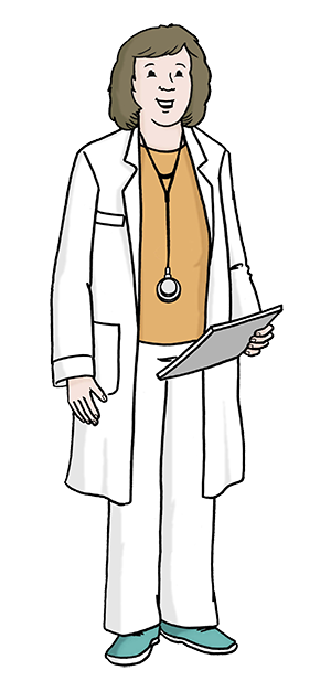 Eine Ärztin