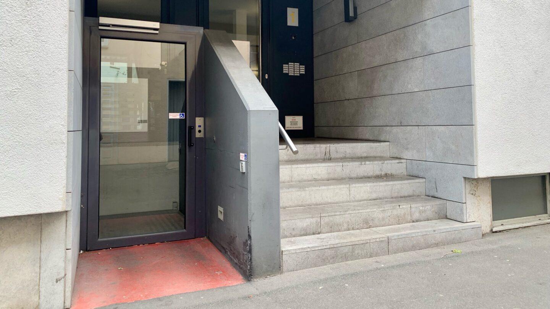 Wohnungseingang barrierefrei